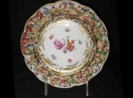 Capo di Monte Porcelain - Hand-painted Plates