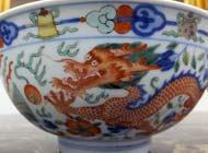 Qing Dynasty - Wucai Bowls