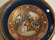 Royal Vienna Porcelain - Plate