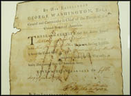 George Washington - Signed Historical Manuscript