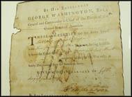 George Washington - Signed Historical Manuscript