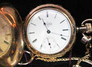 Elgin Watch Company - Gold Pocket Watch