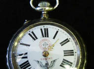 Ferrovia - Silver pocket watch