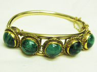 Five-Stone Clasp Bracelet
