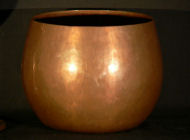 Robert B. Jarvie - Arts and Crafts Copper Bowl