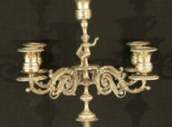 German Silver - Silver-plated Candelabra
