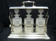 English Silver - Silver-plated Tantalus