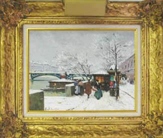 Oil Painting Appraisal Michigan