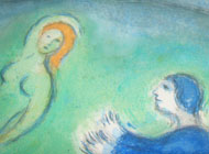 Marc Chagall Daphnis and Lycenon
