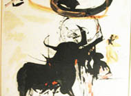 Salvador Dali - Bullfight No. 2