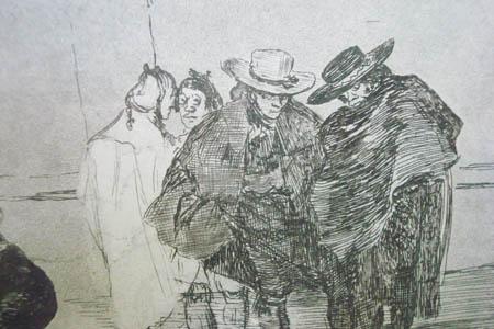 Prints Francisco De Goya La Tauroma Quia Mir