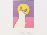 Peter Max - Sage with Bird