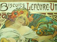 Alphonse Mucha - Biscuits Lefevre-Utile