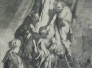 Rembrandt van Rijn - The Descent from the Cross: The Second Plate