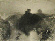 J.M.W. Turner - Kilgarren Castle Pembroke, South Wales