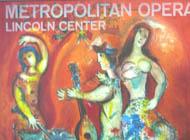 Marc Chagall Carmen, 1966 Metropolitan Opera