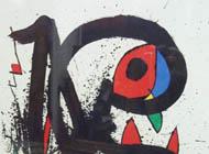 Joan Miro - Manguere de Foudre 1, 1973