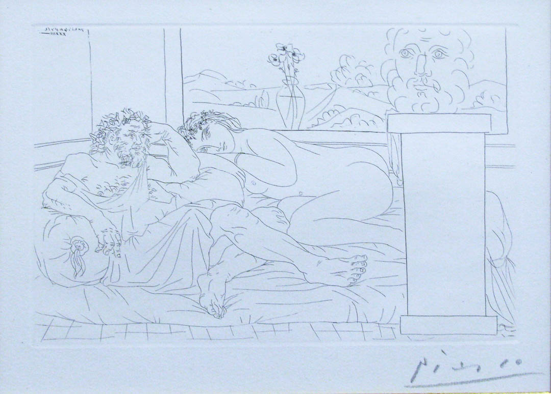 Pablo Picasso - Le Repos du Sculpteur, IV