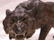 Bronze Figural Group - Desc: Viennese tiger